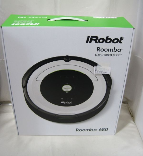 M-552* unopened iRobot Roomba 680 I robot rumba robot vacuum cleaner ...