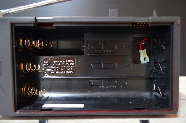 ♪♪20【激レア】蔵出し品FAIR MATE EA-6000 ポータブルテレビ ラジオ 昭和レトロ アンティーク ジャンク♪♪_画像10