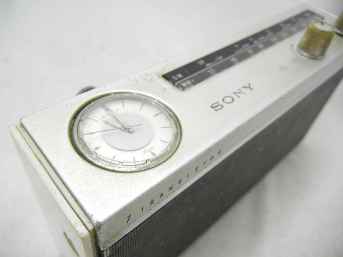 【SONY】ソニー☆トランジスタラジオ☆TRW-734☆ジャンク_画像7