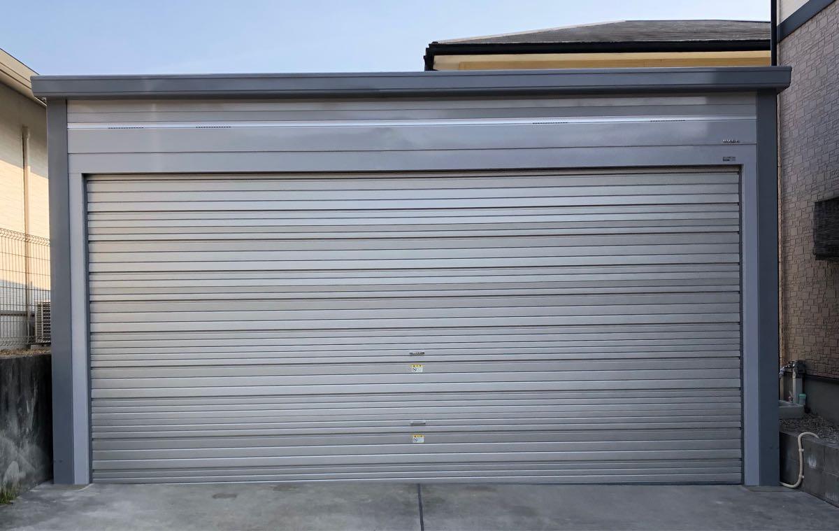 イナバ物置 ブローディア BRK 5764J既存土間コンクリート上安心施工パック全て込み込み。愛知県、岐阜県、三重県etc.