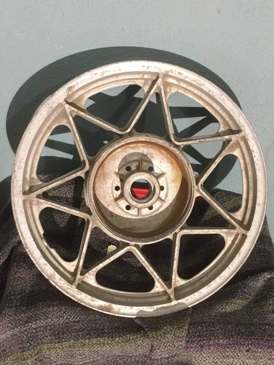 激レア 当時物 本物 GT750用 セブンスター リア ドラムブレーキ gt380 gs400 gsx400e