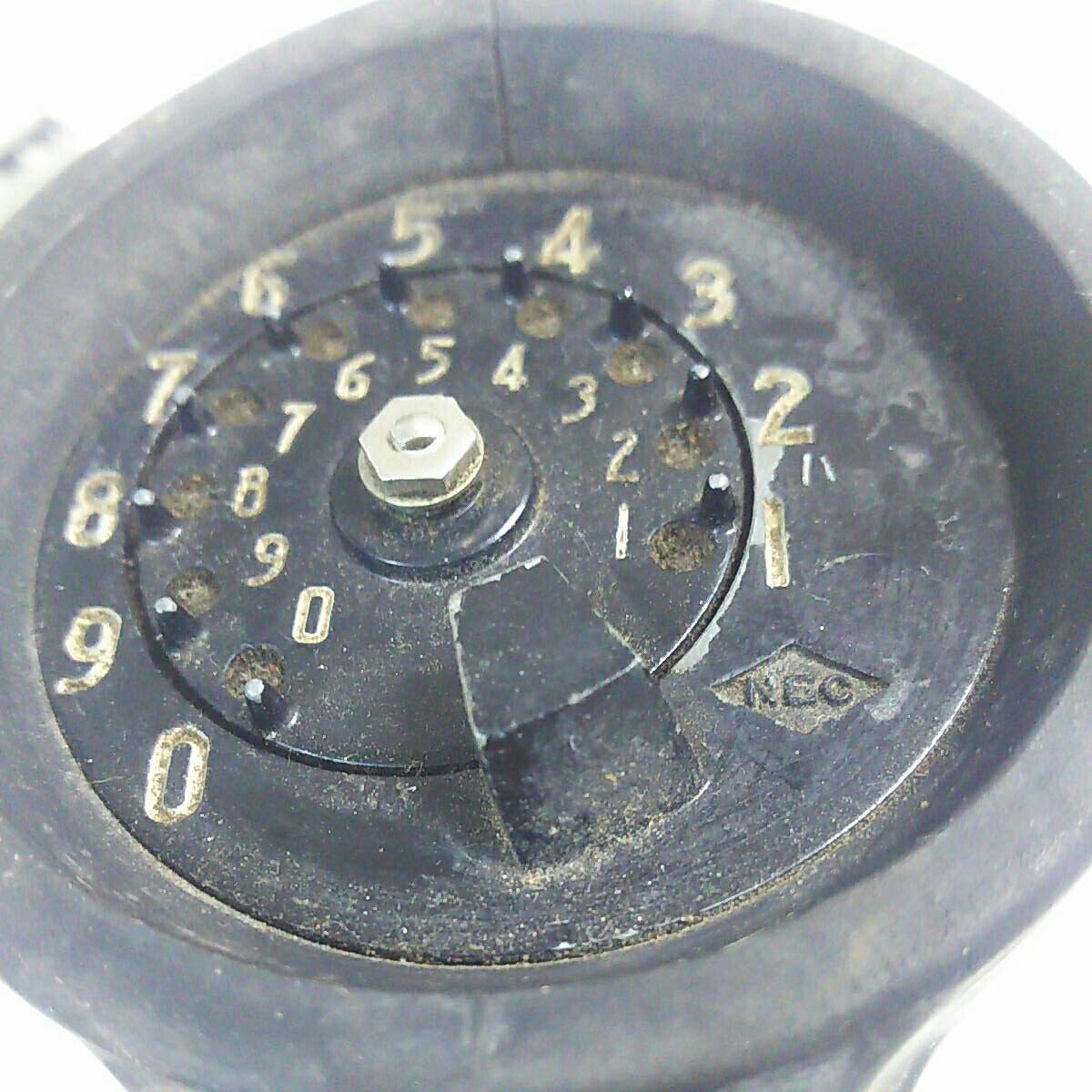 ジャンク品 NEC アンティーク レトロ  通信機器_画像7