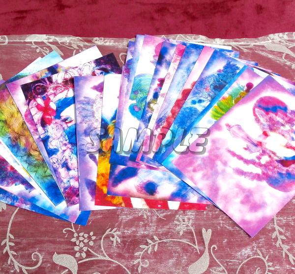 2L判 多種美女 オリジナルイラストアート絵カラー光沢CG 28枚 Various beauty originalart picture printing CG 28p_画像4