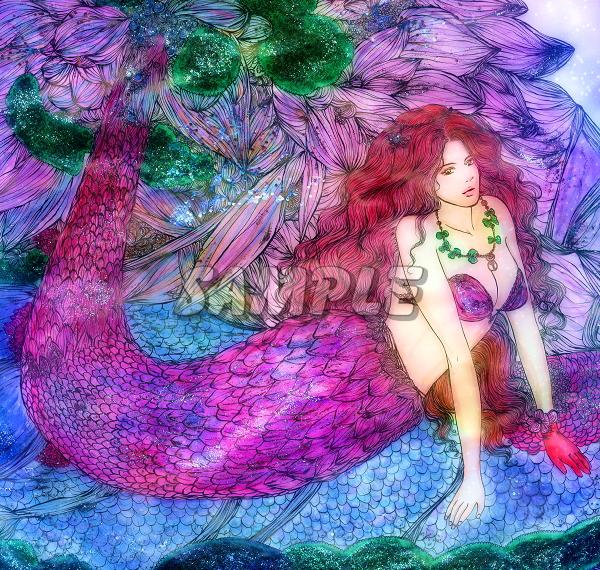 2L判 多種美女 オリジナルイラストアート絵カラー光沢CG 28枚 Various beauty originalart picture printing CG 28p_画像8