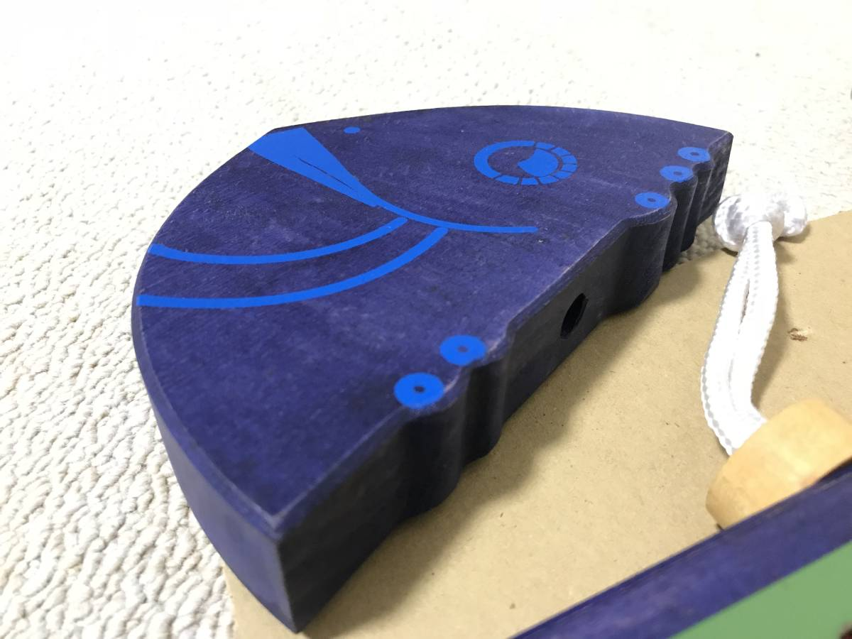 A03014 bornelund 鉄琴 お魚 青 glockenspiel 246 ブルー ボーネルンド おさかな グロッケン 楽器 シロフォン メタルフォン metall_画像2