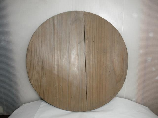 @ 昭和レトロ 桶 桶の底板 花台 木工 古民具 レトロ インテリア 雑貨 和風インテリア_画像1