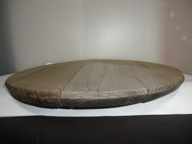 @ 昭和レトロ 桶 桶の底板 花台 木工 古民具 レトロ インテリア 雑貨 和風インテリア_画像7