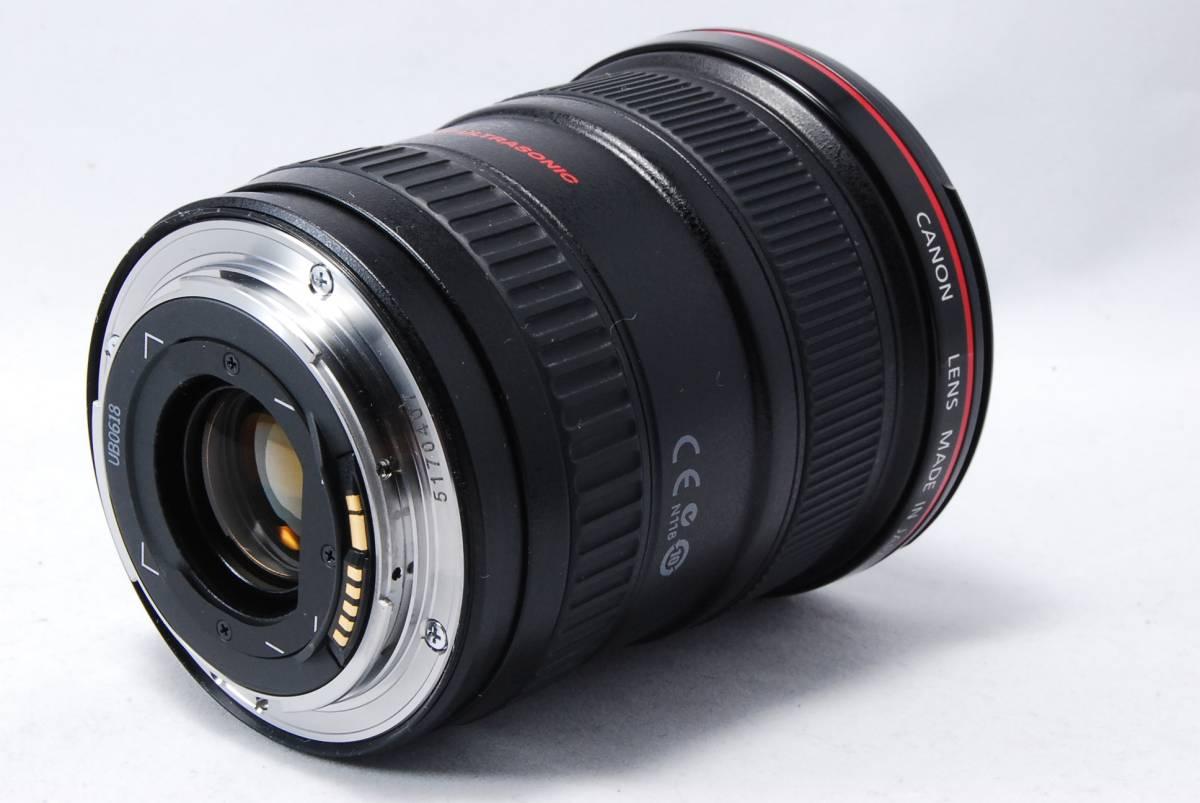 ◆◇極上美品◇◆Canon キャノン EF 17-40mm F4L USM 安心の6ヵ月保証 03K177-15