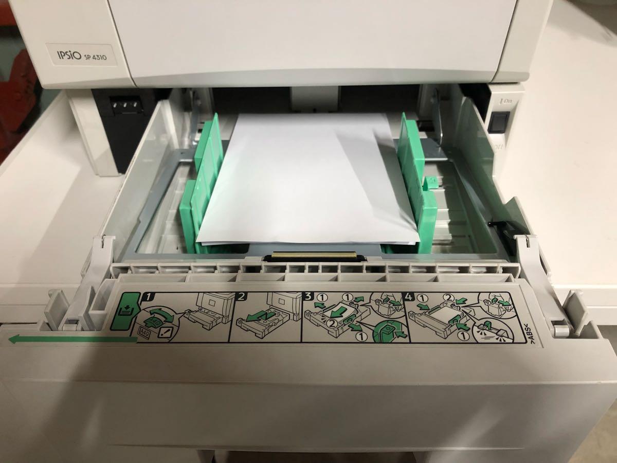 ★RICOH A4 モノクロレーザー IPSiO SP4310 印刷枚数2671枚 ★_画像5