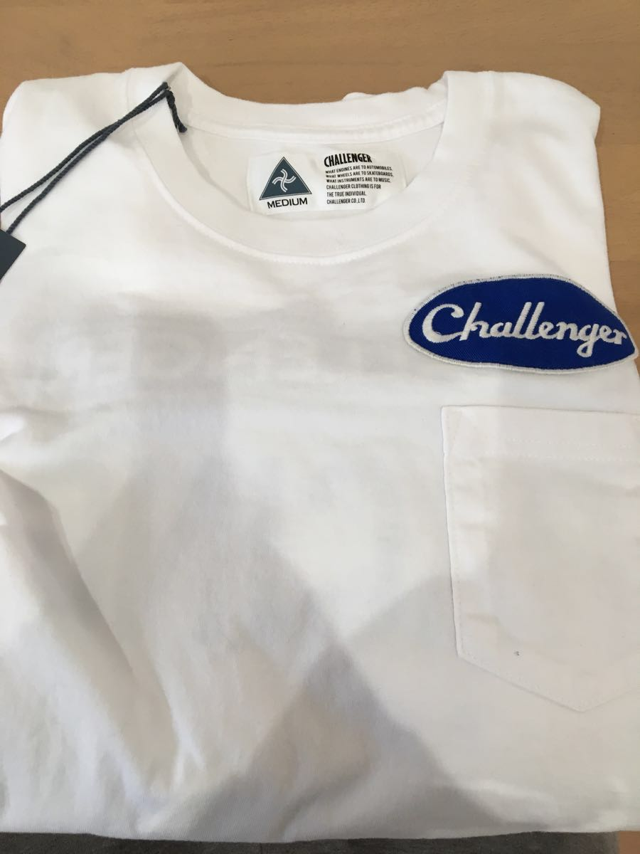 challenger Tシャツ Mサイズ 新品未使用 ホワイト 白 チャレンジャー レーシングT