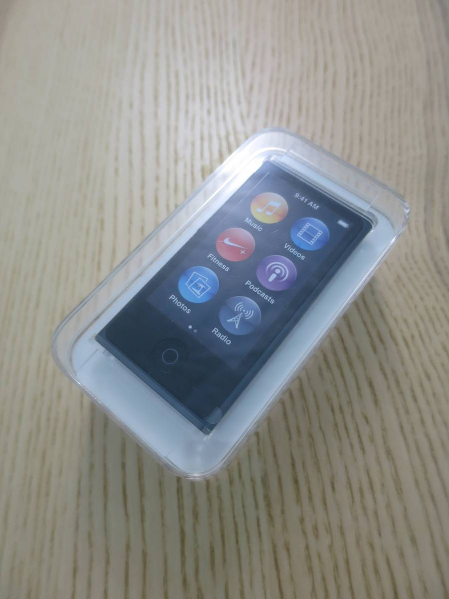 MD481J/A Apple iPod nano slate 16GB 第7世代 A1446 【新品/未開封】