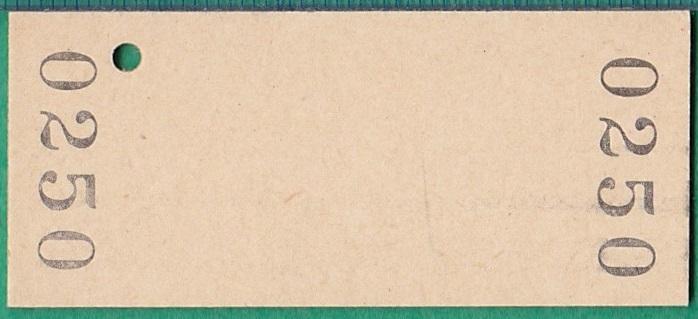 鉄道硬券切符115■普通入場券 比羅夫駅 100円 55-8.11_画像2