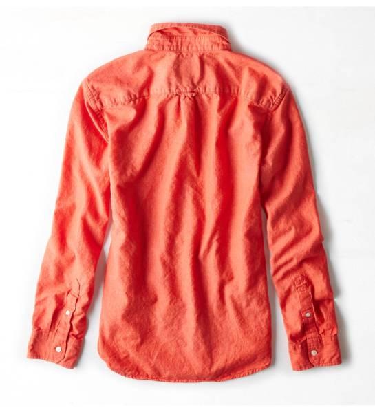 AE アメリカンイーグル men's コットンリネンシャツ size XS_画像2