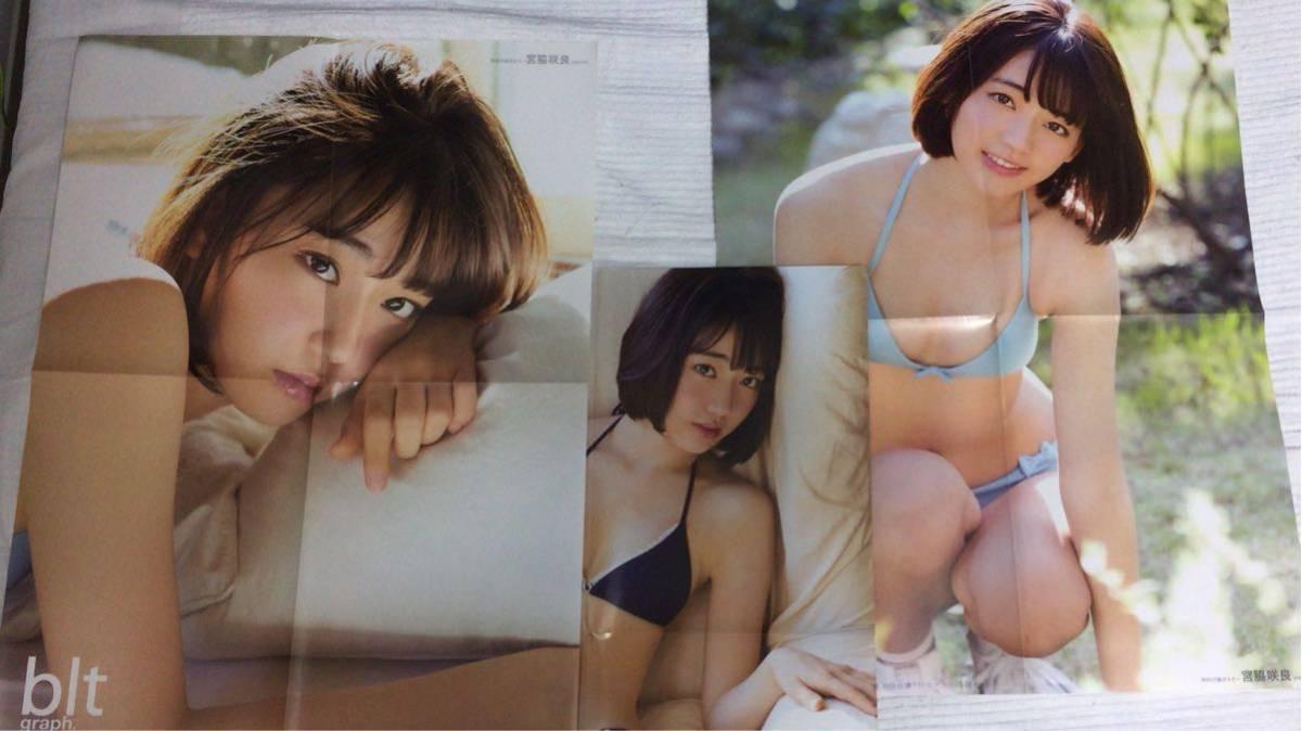 AKB48/HKT48 宮脇咲良 ポスター12枚セット