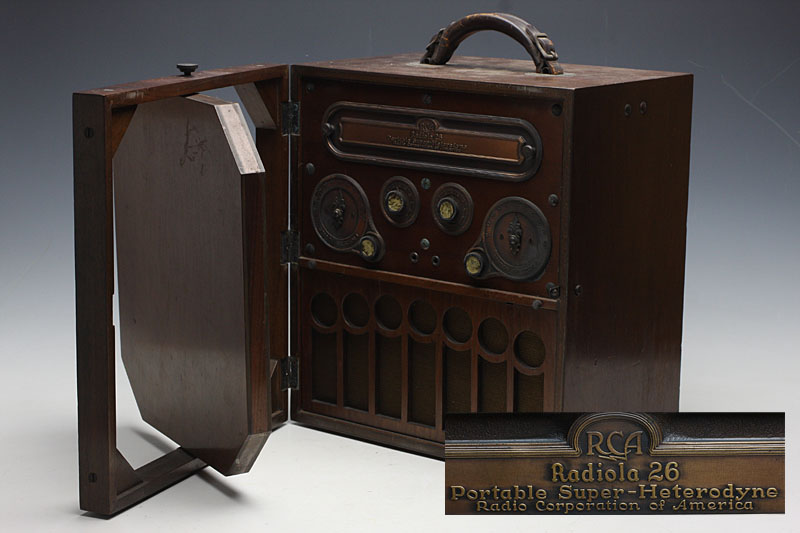 RCA/Radiola 26/Portable Super-Heterodyne/u48