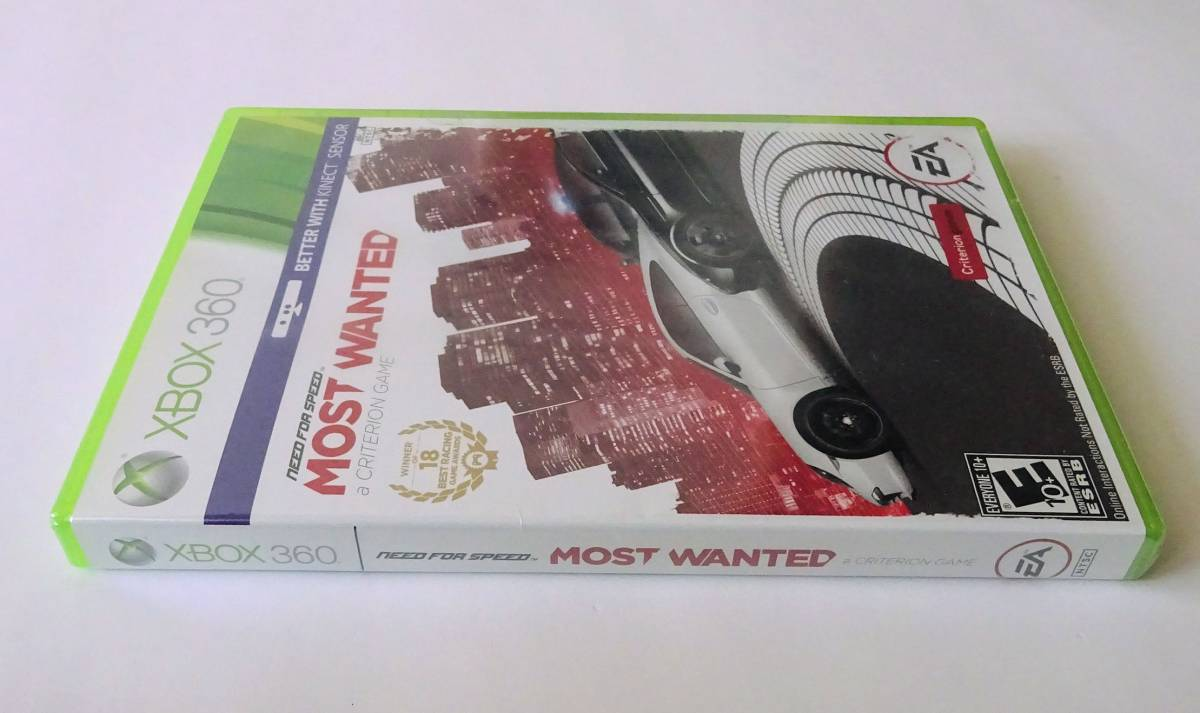 XBOX 360 ★ ニード・フォー・スピード モスト・ウォンテッド NEED FOR SPEED MOST WANTED (CRITERION) ★ 北米版2