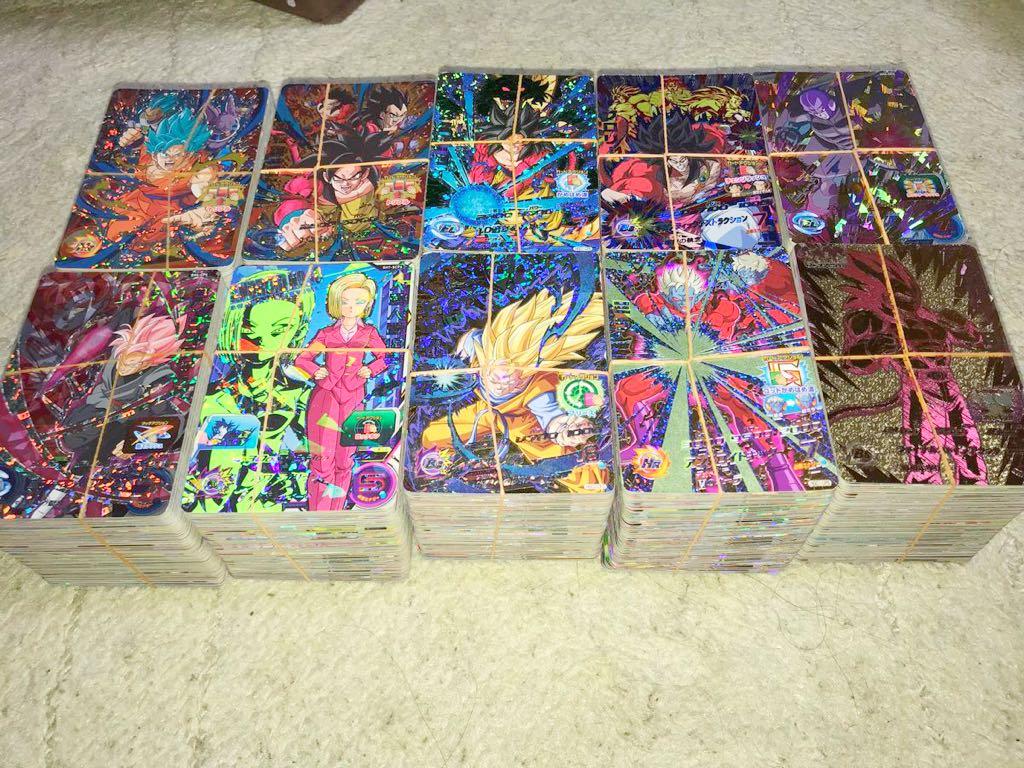 スーパードラゴンボールヒーローズ 超豪華 大量 CP/SRのみ1000枚セット 美品 新品のみ 引退 オリパ、ガチャなどに