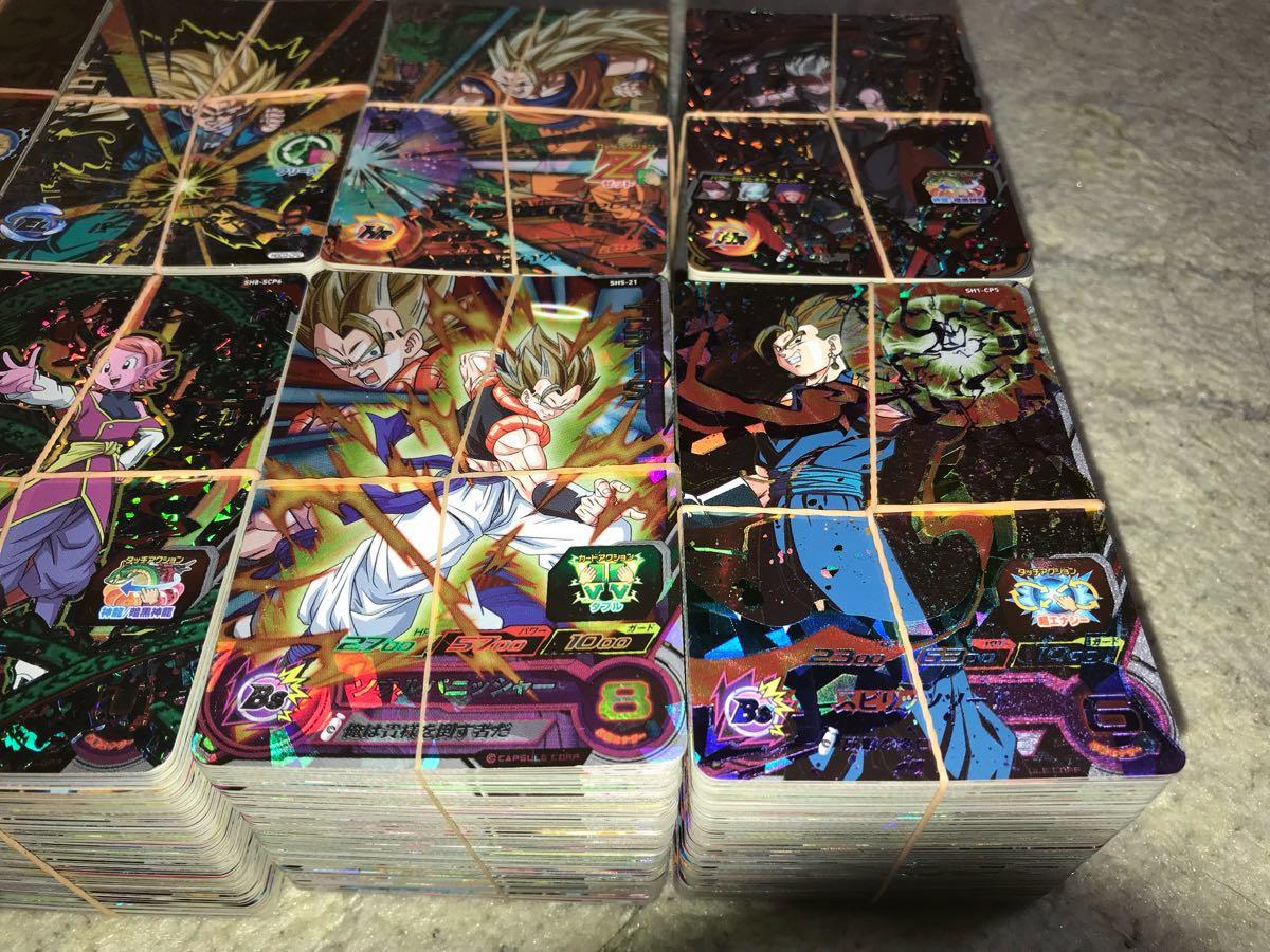 スーパードラゴンボールヒーローズ 超豪華 大量 CP/SRのみ800枚セット 美品多数 引退 オリパ、ガチャなどに_画像3