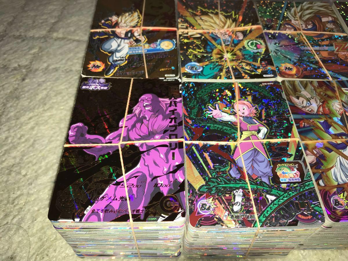 スーパードラゴンボールヒーローズ 超豪華 大量 CP/SRのみ800枚セット 美品多数 引退 オリパ、ガチャなどに_画像2