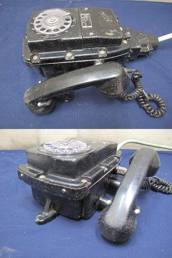 防爆形自動式電話機 (213)沖電気工業株式会社 昭和54年2月 昭和レトロ  インテリア コレクション_画像3