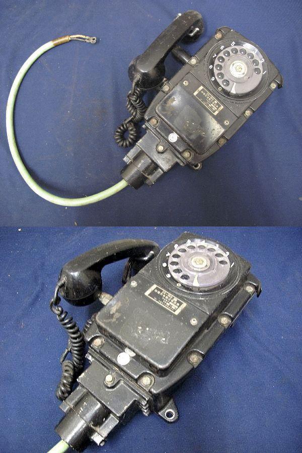 防爆形自動式電話機 (213)沖電気工業株式会社 昭和54年2月 昭和レトロ  インテリア コレクション_画像2