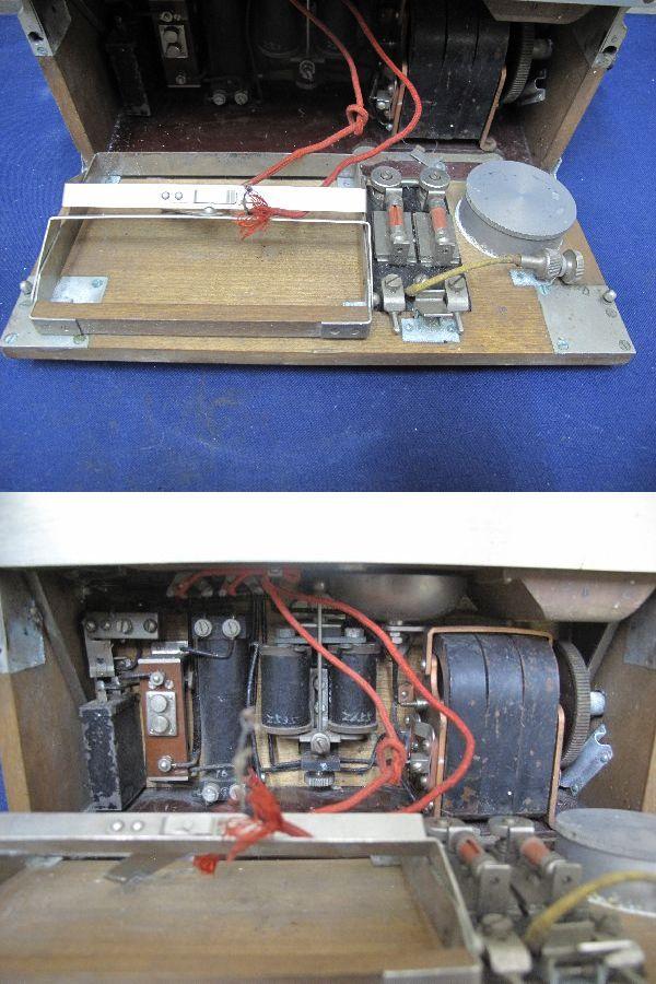 九二式電話機(236) 日本陸軍野戦用電話機  昭和レトロ 軍隊_画像7