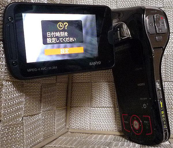 SANYO Xacti ザクティ DMX-CA100 防水ビデオカメラ ジャンク 送料無料_画像2