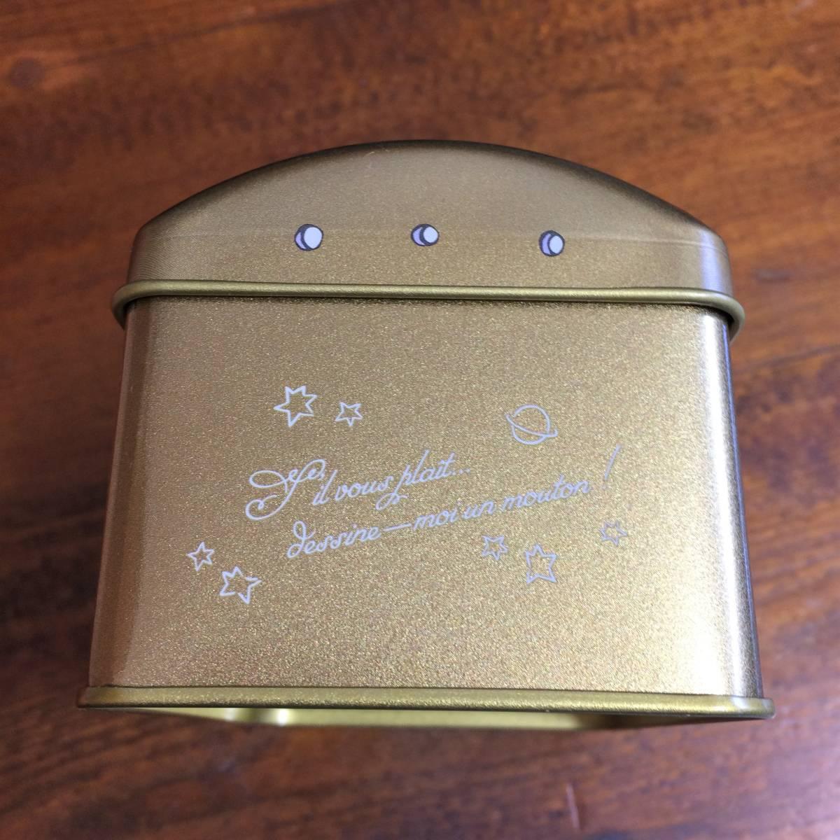 Mary's×星の王子さま★スチール缶(空缶)宝物型_画像3