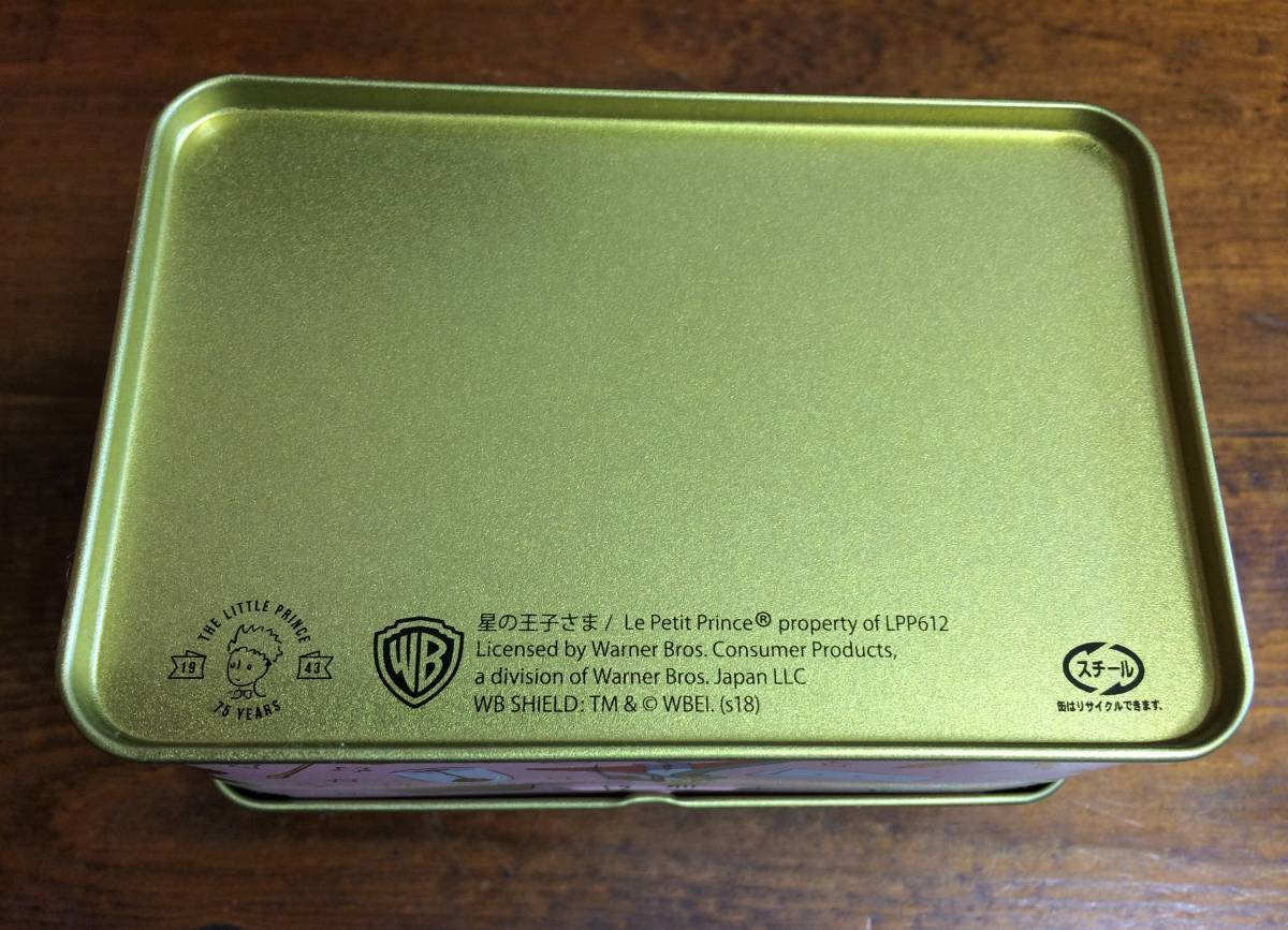 Mary's×星の王子さま★スチール缶(空缶)宝物型_画像5