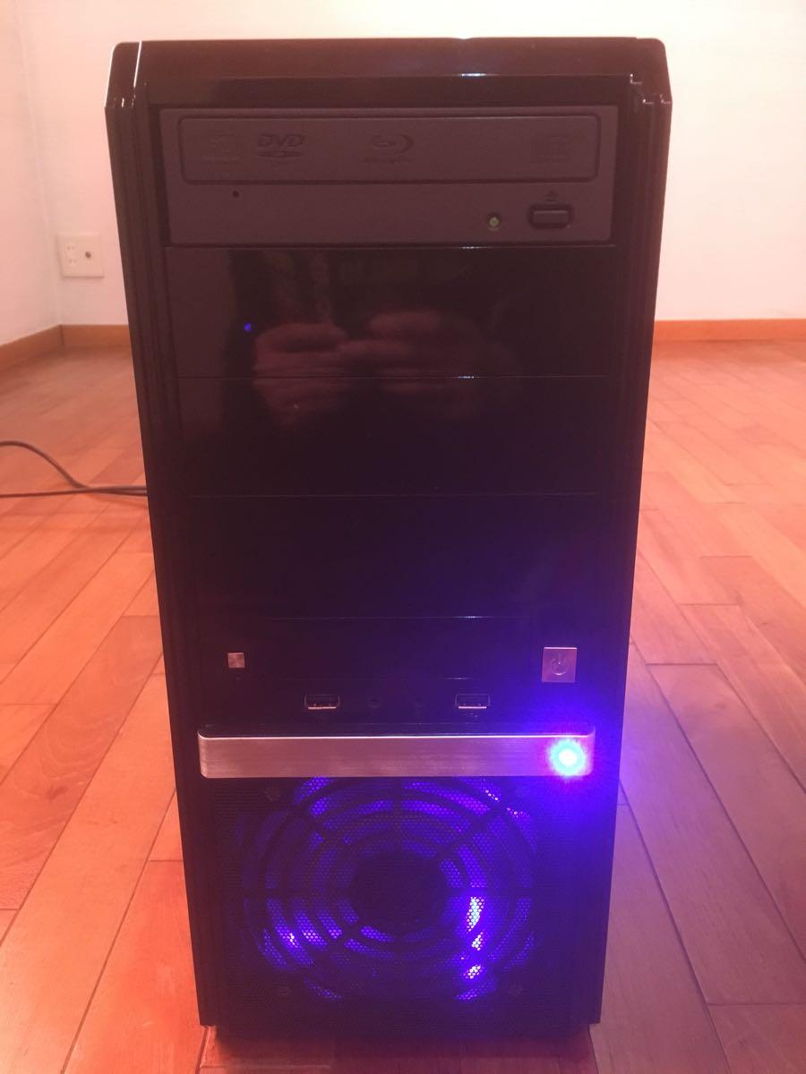 【美品】自作PC/デスクトップパソコン Intel Core i7-3770/8GB/HDD:500GB+1TB/Windows7 Pro/P8B75-M/BD-ROM/DVDスーパーマルチ 動作確認済_画像7