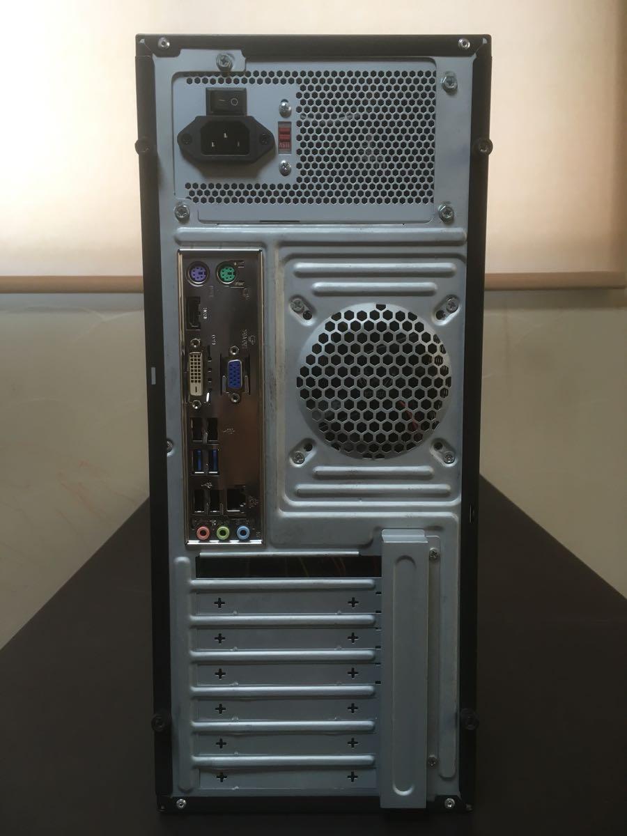 【美品】自作PC/デスクトップパソコン Intel Core i7-3770/8GB/HDD:500GB+1TB/Windows7 Pro/P8B75-M/BD-ROM/DVDスーパーマルチ 動作確認済_画像2