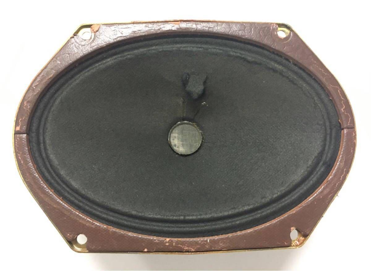 真空管ラジオ用 スピーカー ダイナミック 楕円形マウント18x12.5cm 豪州HMV His Master's Voiceブランド ジャンク 1円スタート!!_画像4