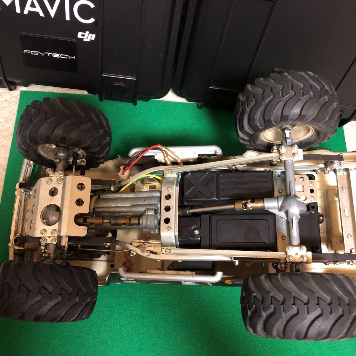 タミヤ ハイラックス 4WD ジャンク品_画像4