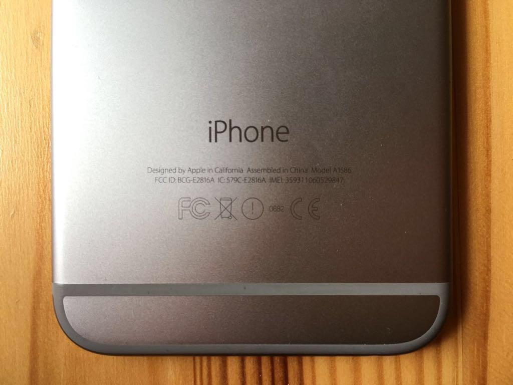 iPhone6 64GB スペースグレイ【SoftBank】_画像7