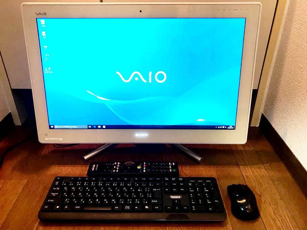 【美品!】VAIO L Core i5 3波テレビチューナー,2TB HDD,10GB RAM,BDD,Win10Pro,Office