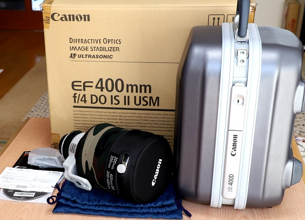 キャノン EF 400mm F4 DO IS USM レンズ 中古
