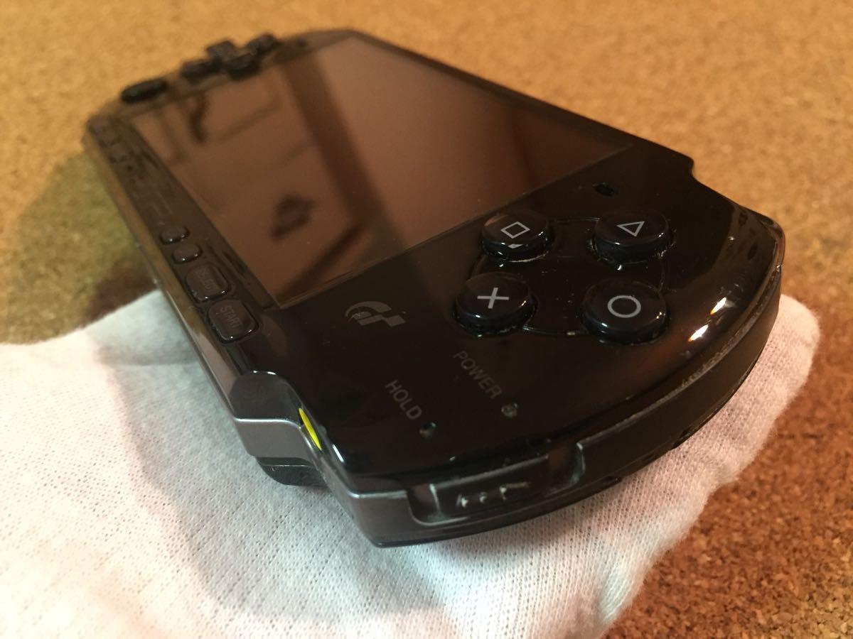 1円スタート SONY ソニー PSP3000 グランツーリスモ限定 黒 中古品_画像7