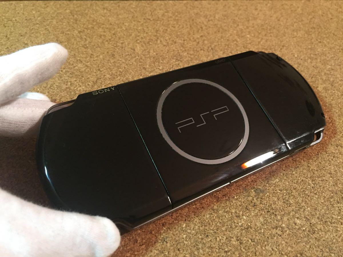 1円スタート SONY ソニー PSP3000 グランツーリスモ限定 黒 中古品_画像5