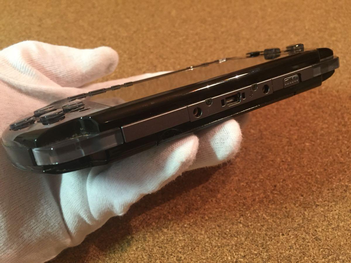 1円スタート SONY ソニー PSP3000 グランツーリスモ限定 黒 中古品_画像8