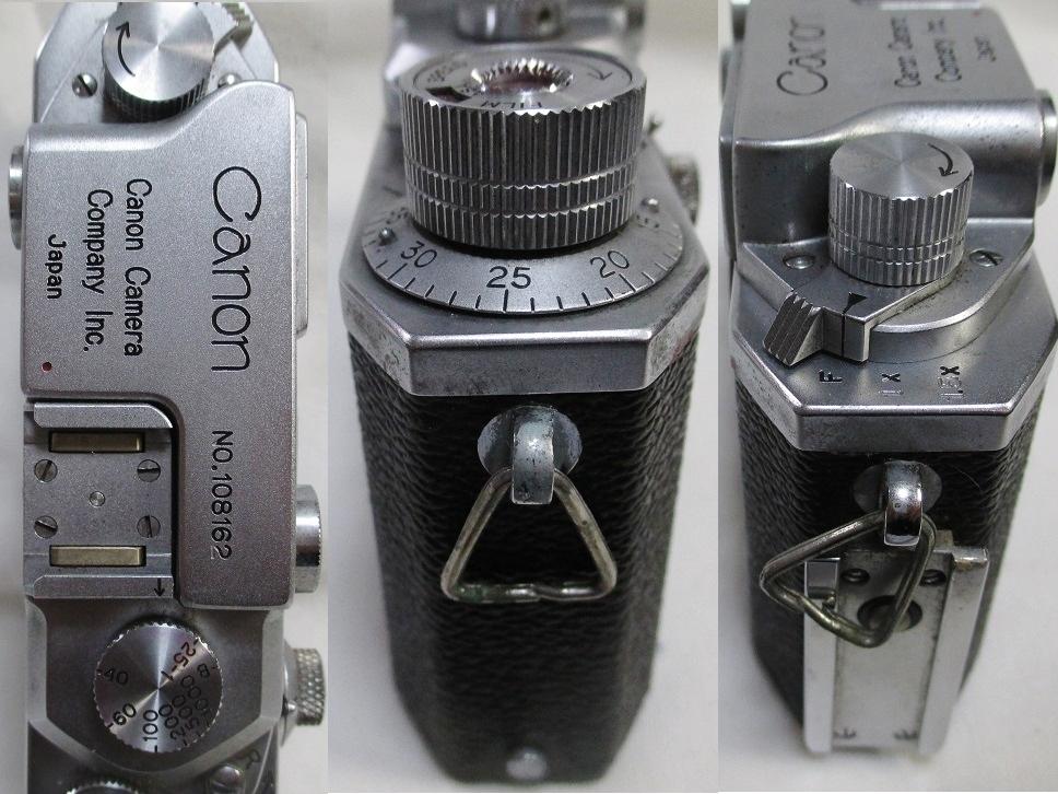 キヤノンⅣSb改 50ミリ F1.8付/108162 フラッシュ等付属・概ね美品かと です。_画像5