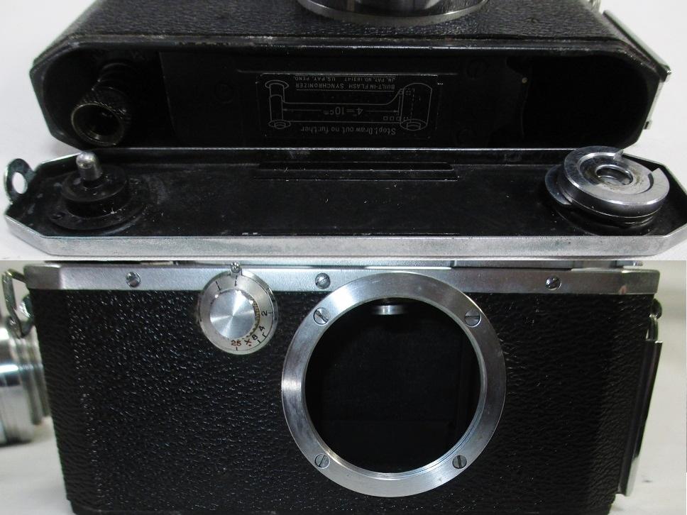 キヤノンⅣSb改 50ミリ F1.8付/108162 フラッシュ等付属・概ね美品かと です。_画像4