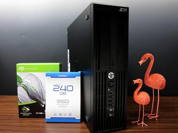 新品SSD240GB+新品HDD3TB★クアッドコアCPU i7-3770★メモリ16GB★ブルーレイ★USB3.0★