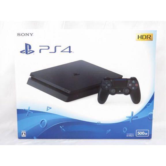 【新品】 SONY(ソニー) PlayStation4 ジェット・ブラック 500GB CUH-2100AB01 薄型 PS4 プレイステーション4
