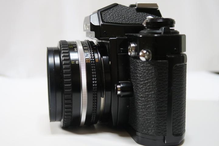 ★★美品Nikon ニコン New FM2ブラック50mmF1,8レンズ付き★★_画像4