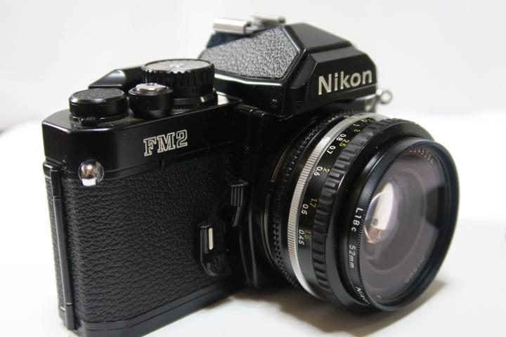 ★★美品Nikon ニコン New FM2ブラック50mmF1,8レンズ付き★★_画像5