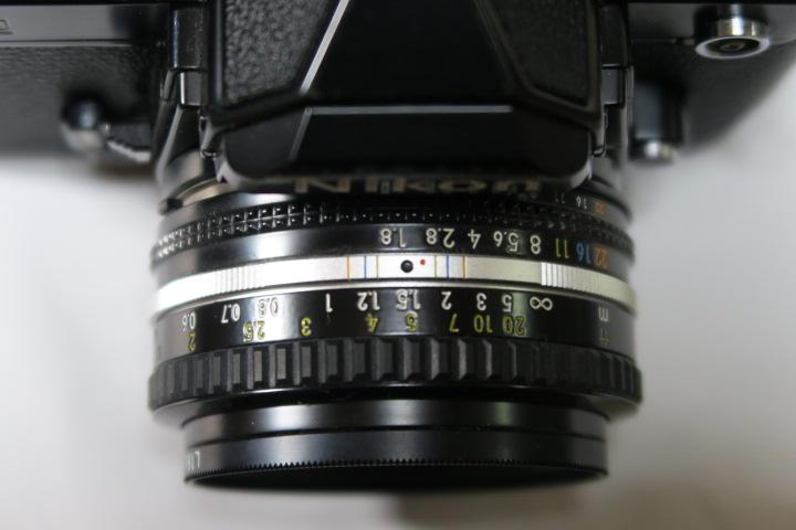 ★★美品Nikon ニコン New FM2ブラック50mmF1,8レンズ付き★★_画像9