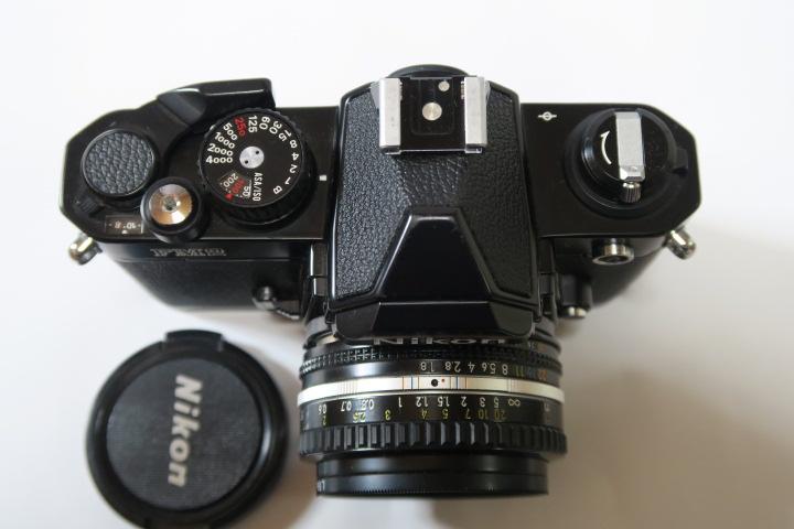 ★★美品Nikon ニコン New FM2ブラック50mmF1,8レンズ付き★★_画像2