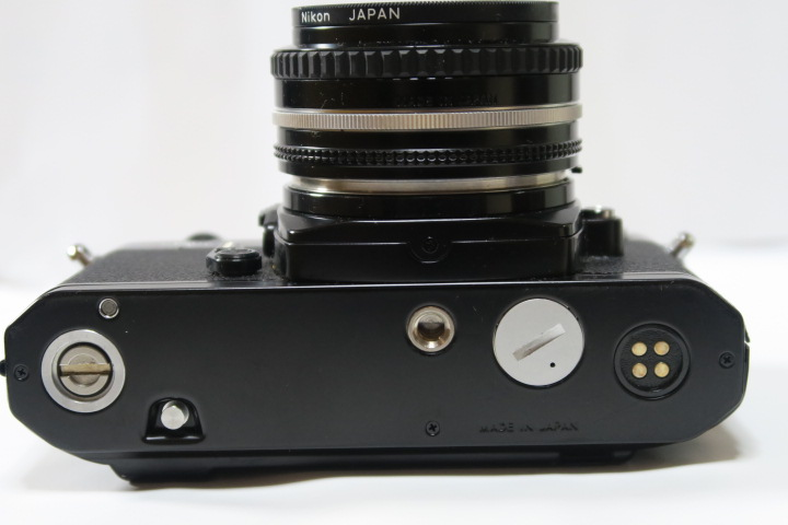★★美品Nikon ニコン New FM2ブラック50mmF1,8レンズ付き★★_画像6