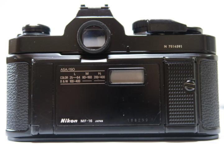 ★★美品Nikon ニコン New FM2ブラック50mmF1,8レンズ付き★★_画像3