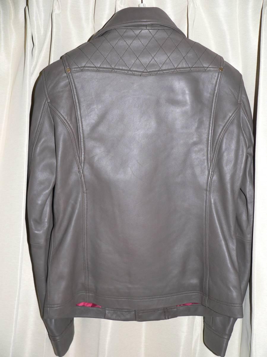 32e4e11e22da 【ROL-10】 【ロッソスタイルラボ】 ダブルライダースレザージャケット Rosso Style Lab レディース 【羊革】